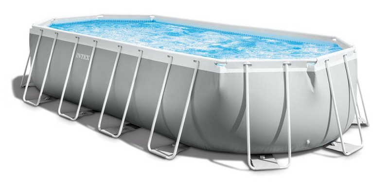 Acheter le kit piscine tubulaire Intex, modèle ovale pour le jardin 26798np guide comparatif des prix des pisciniste, faire son choix.