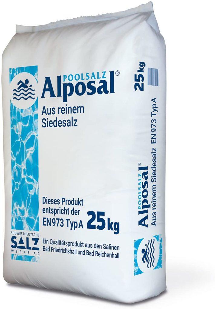 Alposal sel de piscine en sac de 25 kg composé pur ignigène guide achat meilleur prix pour le traitement avec matériel de qualité