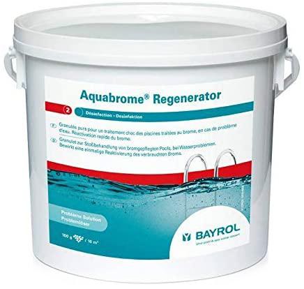 Aqua brome Regenerator Bayrol 5 kg, granulés purs pour traitement choc guide commande en ligne piscine selection de meilleurs produits