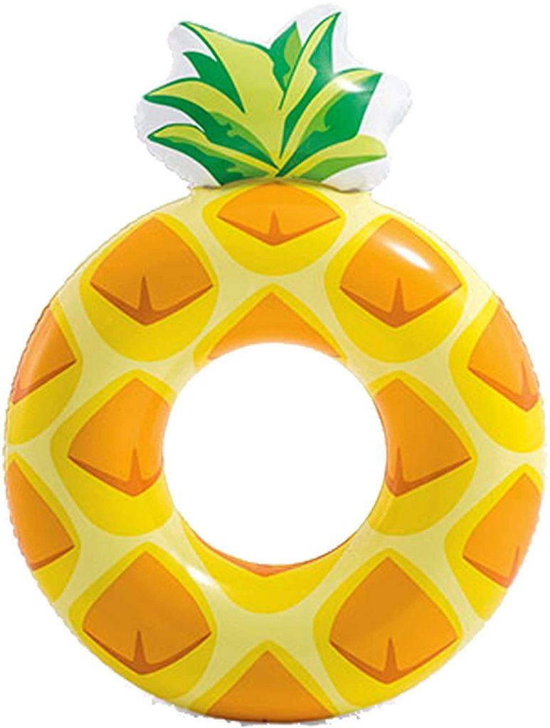 Bouée gonflable tranche d'ananas 117 x 86 cm choix de tous style meilleur guide achat pas cher pour la piscine