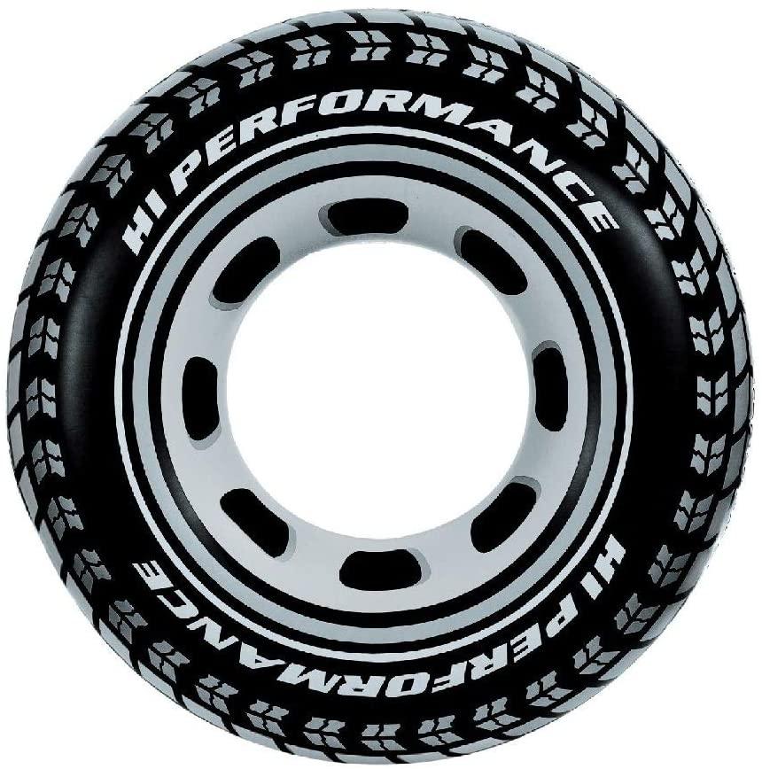 Bouée pneu de voiture 91 cm comparatif des beaux motifs pour l'équipement piscine en France et au Luxembourg