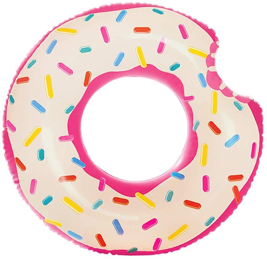 Bouée tube donut 107 cm d'Intex Guide pour l'ammusement à la piscine - faites la joie de enfant en été