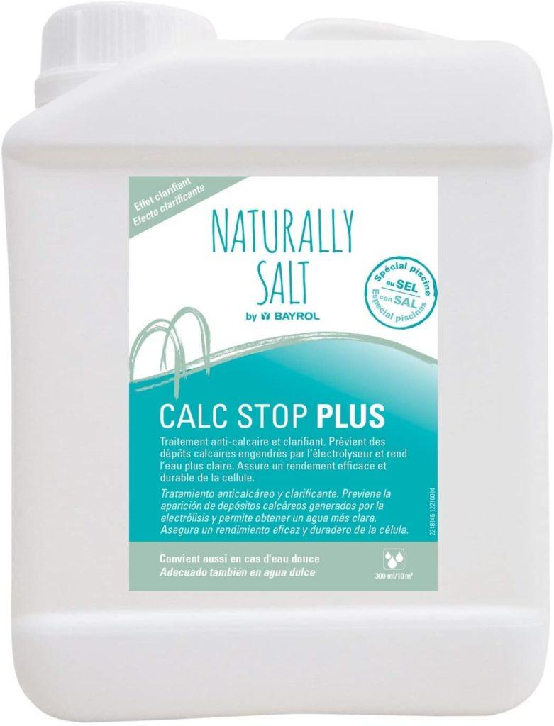 Calc Stop Plus de Bayrol 2 litres, prévention calcaire et clariffication guide traitrement eau piscine achat pas cher