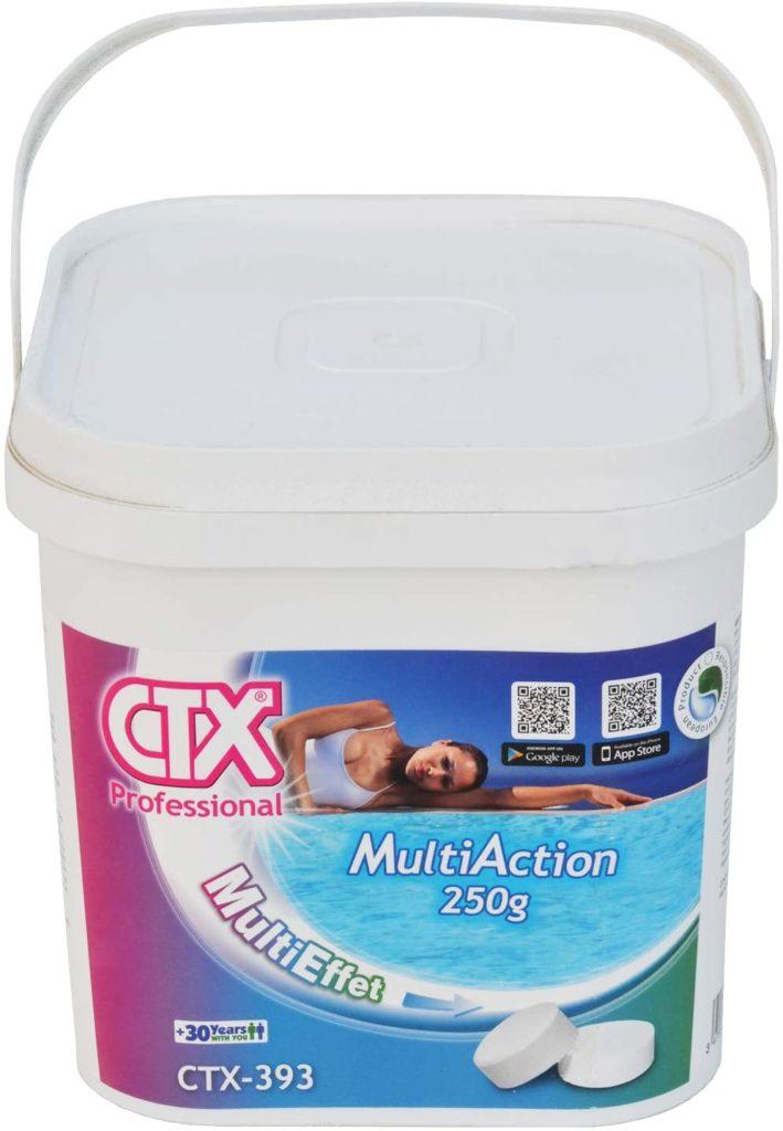 Chlore Mutltiaction 5 kg Triplex CTX 393 par Astral marque CTX comparaison des meilleures traitement pour désinfecter l'eau