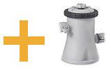 Kit épurateur + Intex Metal Frame Ronde 305 x 76 cm