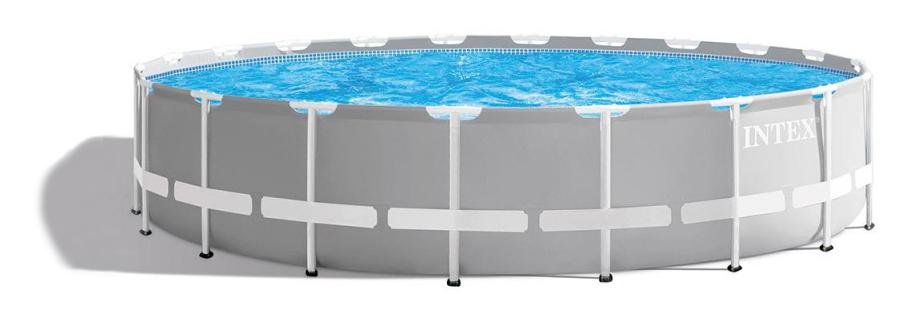 Guide des meilleures tailles de piscine tubulaire pour s'équiper en été, voir la référence 26756np prism frame ronde, les meilleurs produits INTEX