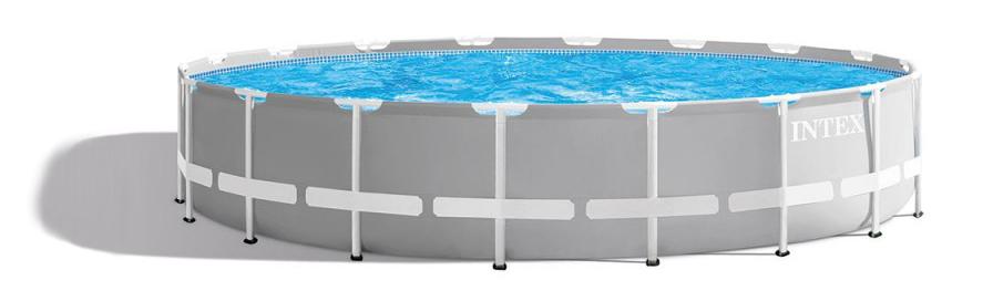 Le meilleur site pour commander une piscine tubulaire Intex, bassin 26732np prism frame ronde, informations, caractéristique du produit.