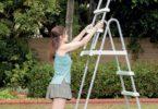 Meilleure échelle de sécurité pour une piscine tubulaire de marque Intex et Bestway - Présentation meilleur matériel pour faire des baignades dans son jardin