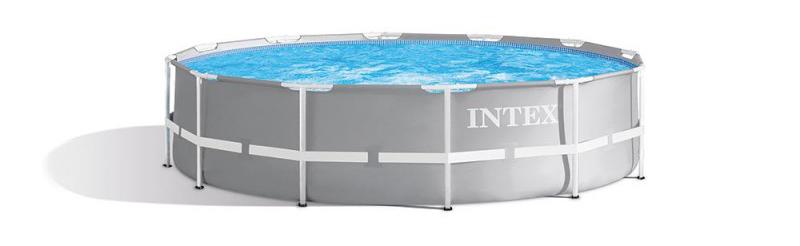 Meilleure modèle de la marque Intex, le bassin tubulaire 26716np kit prism frame arondie pour l'installation du jardin de votre maison ou à l'extérieur dans une cour.