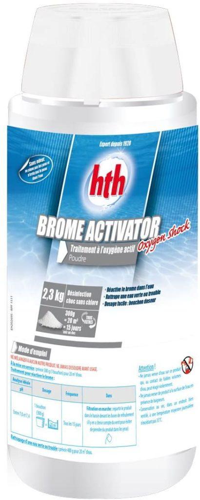 Oxygène Actif Shock par Hth vendu en Poudre