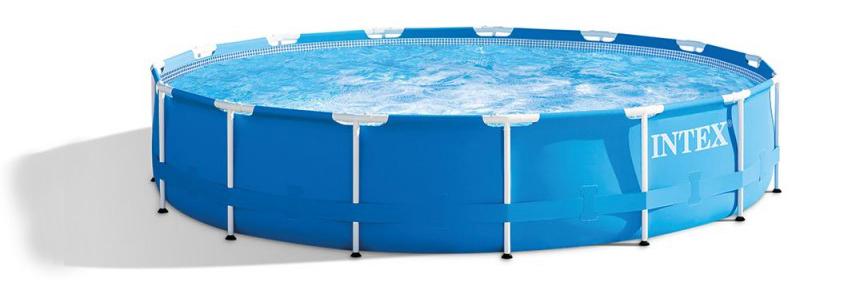 Piscine tubulaire Intex France référence 28240fr metal frame ronde, guide des meilleures marques spécialisé en piscine hors-sol de jardin