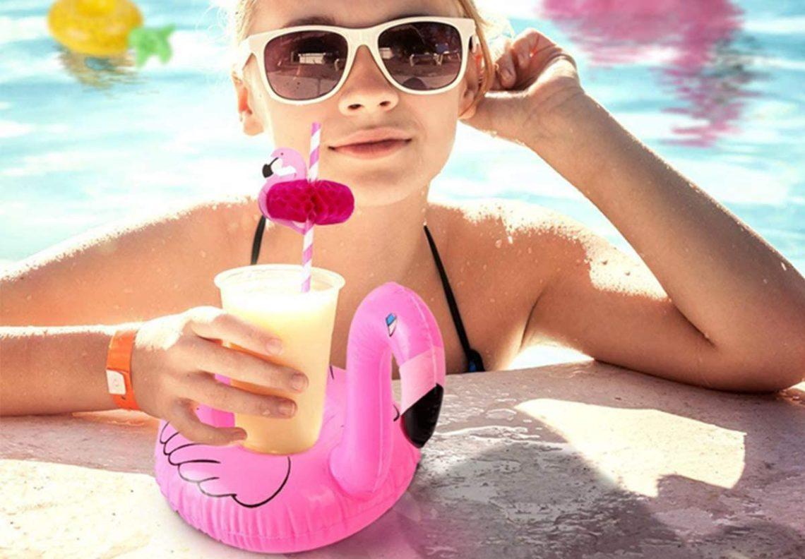 Porte gobelet piscine - Liste des modèles originaux – Jeu enfant et apéro comparatif détente piscine guide spécialisé