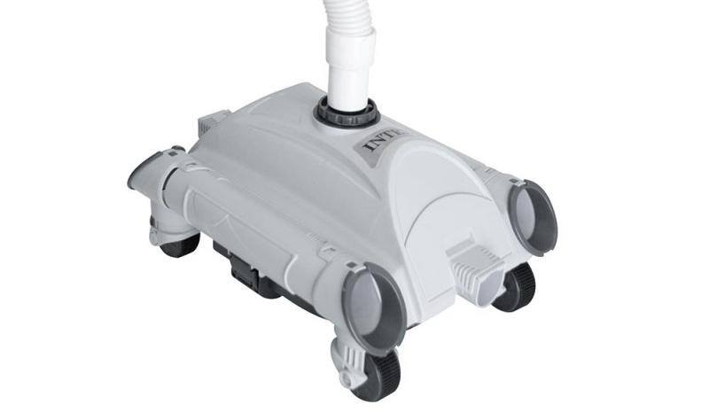 Robot piscine Intex pour le nettoyage de fond hors-sol tubulaire et autoportante