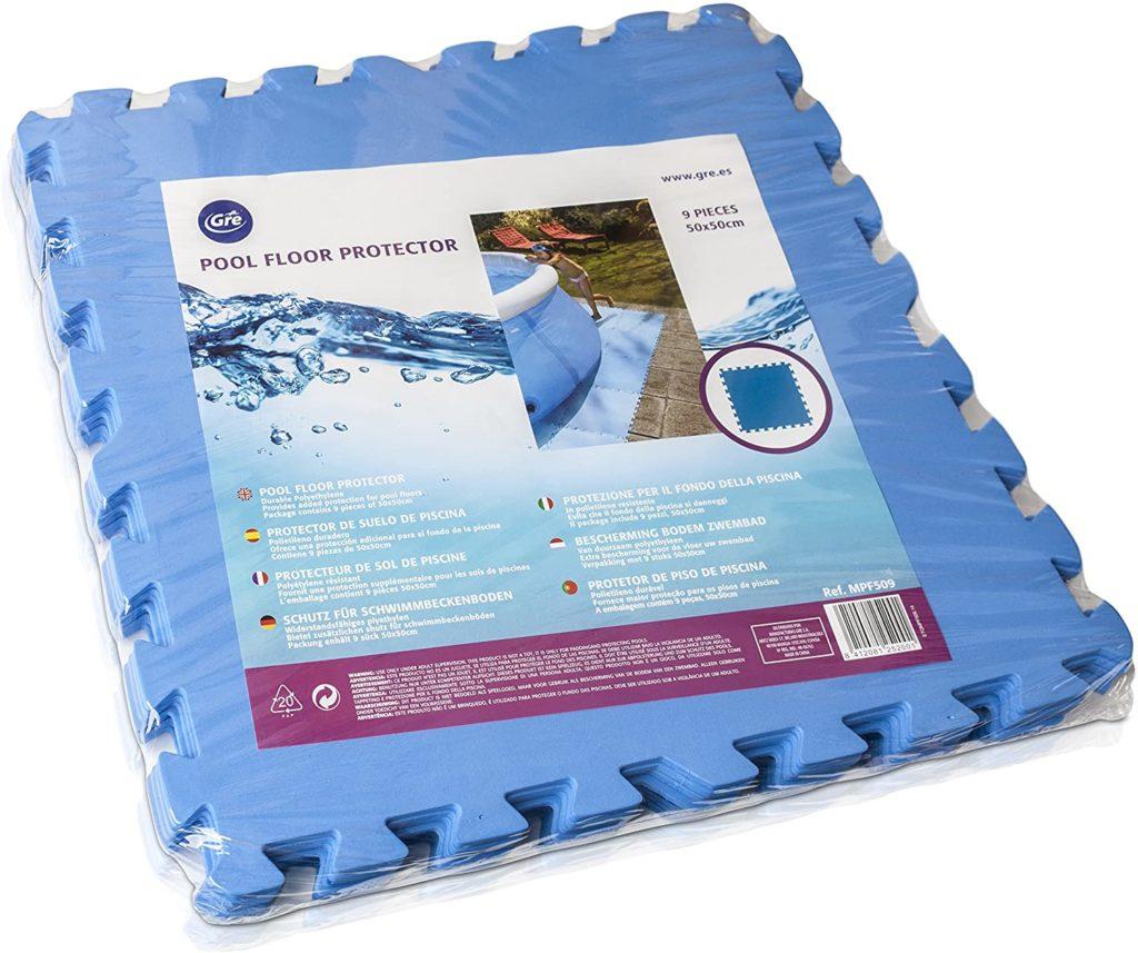 Tapis de sol en morceau Gre Bleu comparateur de prix piscine meilleur équipement pour le jardin