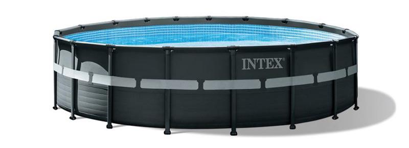 acheter un grande piscine ronde pour le jardin, la tubulaire Intex 26330gn, Ulta XTR de bonne taille avec équipement vendu à bon prix par carte bancaire