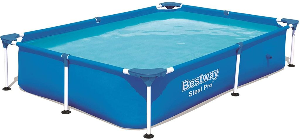 Petit piscine Steel Pro Bestway 2,21 x 1,50 x 0,43 m