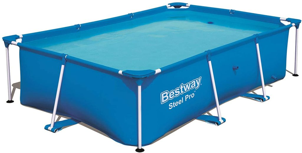 Steel Pro Bestway 2,59 x 1,70 x 0,61 m modèle piscine petite taille