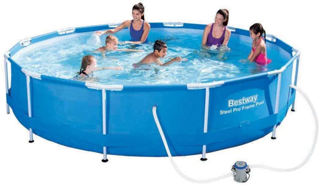 Bestway piscine hors-sol Steel Pro Frame Pool ronde 3,66 x 0,76 cm
