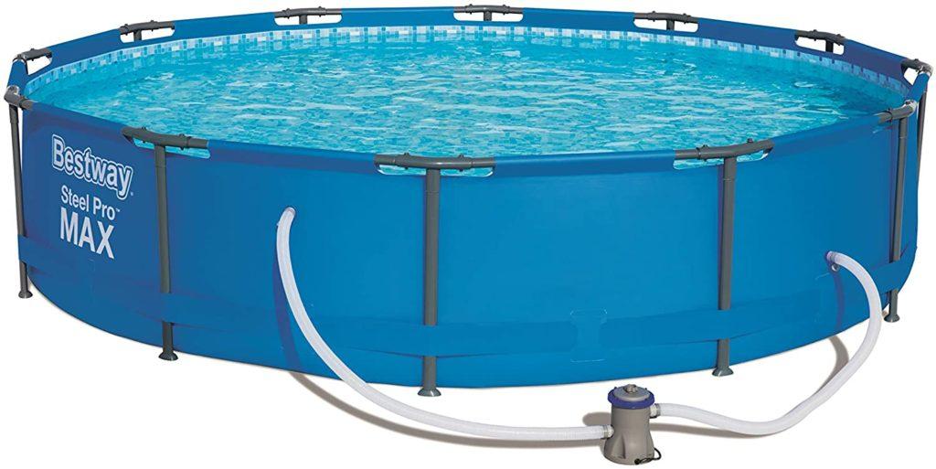 Bassin de natation Steel Pro Max Bestway, piscine avec forme ronde 3,66 x 0,76 m