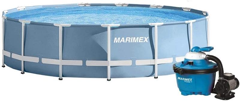 Piscine tubulaire Marimex bleu