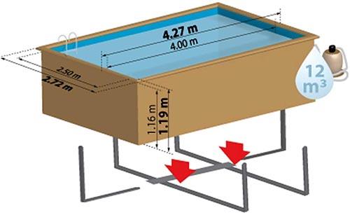 Meilleure piscine bois rectangulaire taille