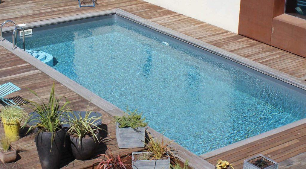 Modèle piscine bois Evora 600 x 400 x 133 cm