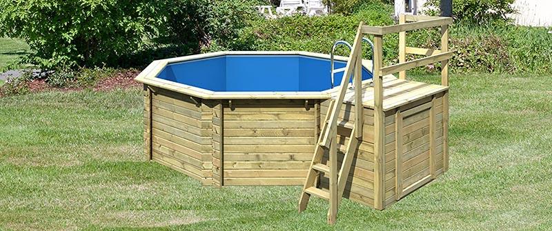 Piscine Bois Paradies Pool, matériel pas cher hors-sol