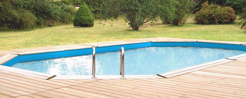 Vermela piscine creusée pour espace extérieur