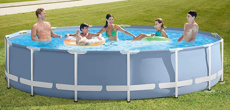 piscine tubulaire ronde 366 x 76 cm